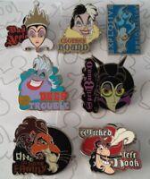 Villains Attributes Mystery Collection Villain Choose a Disney Pin