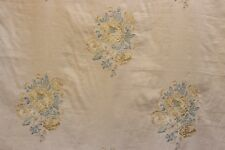 Sanderson Curtain/upholstery Fabric Design Nanine Embroidered Floral per Metre