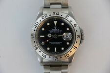 "1997, ROLEX, ""EXPLORER II"", SS, MODEL 16750,  40mm, (GMT/2nd TIME ZONE)"