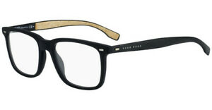 HUGO BOSS 0884 0R5 Eyeglasses Black Frame 53 mm