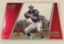 New listing 1998 Aurora Red PEYTON MANNING Rookie Indianapolis Colts Rc #22 Hall Of Fame HOT