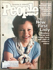 "First Lady Rosalynn Carter Autograph/ Photo On ""People"" Cover"
