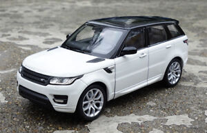 WELLY 1:24 Sports SUV Alloy Static Car Model For LAND ROVER RANGE ROVER Men Gift