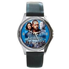 I, Robot watch (round metal wristwatch)