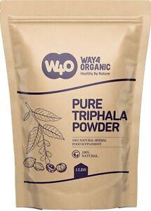 Triphala Powder 16 Oz(1 Pound), Made from Deseeded Amla, Haritaki & Bibhitaki