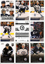 2013-14 Panini Score Winnipeg Jets Complete Team Set (22)