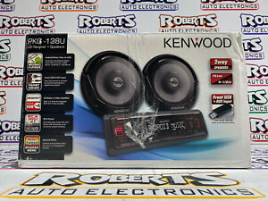 "Kenwood PKG-138U KDC-138U CD Receiver and KFC-1665S 6.5"" speakers radio"