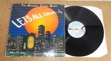 THE MICHAEL ZAGER BAND : LET'S ALL CHANT - FRENCH LP 1978 - PRIVATE STOCK 1042