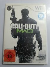 Call of Duty Modern Warfare 3 Nintendo Wii PAL Aleman COMPLETO