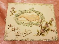 Ernest Nister Antique Christmas Card - Unused