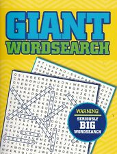 GIANT WORDSEARCH PUZZLE BOOK (PAPERBACK) A4 - 54 GIANT FULL PAGE PUZZLES