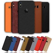 Carbon Leather Wood Chrome Skin Wrap Sticker Decal Case Cover Huawei P20 Pro