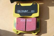 2 Brake Pads for 95-00 Lotus Esprit, GT3 Frtont Brembo Caliper, EBC Yellow Stuff