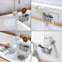 Kitchen Hanging Storage Drain Basket Sink Organizer Rack Sponge Caddy Holder !