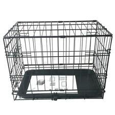 "SALE 20"" Pet Kennel Cat Rabbit Folding Steel Crate Animal Playpen Wire Metal ✅"