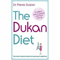 Dukan Diet Book By Pierre Dukan French Medical Solution For Weight Loss PB NEW