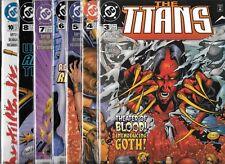 The Titans Lot Of 7 - #3 #4 #5 #6 #7 #8 #10 (Nm-) Teen Titans