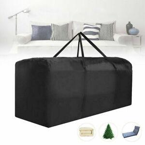 Extra Large Waterproof Heavy Duty Outdoor Garden Furniture Cushion Storage Bag