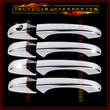 For DODGE Grand Caravan 2008-2013 2014 2015 2016 Chrome 4 Door Handle Covers w/o