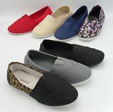 New Women Slip-On Comfort Canvas Sneaker