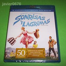SONRISAS Y LAGRIMAS BLU-RAY NUEVO Y PRECINTADO EDICION 2 DISCOS