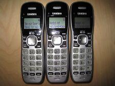 Lot of 3 Uniden D1484-3 Dect 6.0 Cordless Expansion Handset Phone