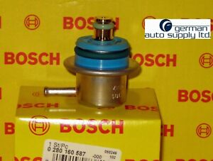 Mercedes-Benz Fuel Injection Pressure Regulator - BOSCH - 0280160587 - OEM MB