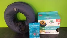 """Calm Paw Protective Pet Collar and Calming Disk Size L 13""""-18"""" USED"""