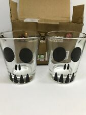 Killer Shots Dead Good Shot Glasses Two Deadly Shots Set of 2
