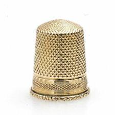 Antieke gouden vingerhoed
