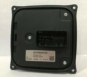 NEW FOR OEM MERCEDES HEADLIGHT LED CONTROL MODULE BALLAST A2189009103 W204 W218
