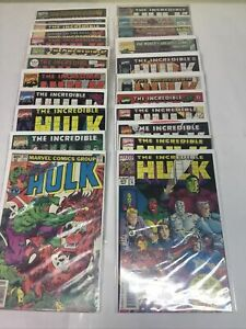 Incredible Hulk (1962 Marvel) 23 Issue Lot 247-458 Annuals