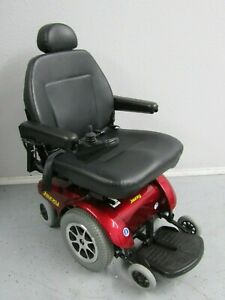 JAZZY SELECT 14 XL FRONT WHEEL DRIVE POWER WHEELCHAIR, 400 LBS CAP.NEW BATTERIES