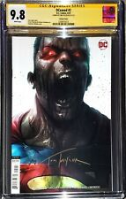 DCeased #2 Mattina Variant CGC SS 9.8 signed by Tom Taylor