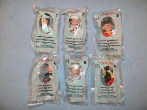 * MIP 2004 McDonalds Madame Alexander Dolls Mint Set - Lot of 6