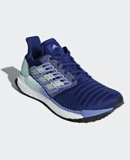 Adidas SolarBoost BB6602 Running Shoes, Women's Size 6 Blue, Mint & Lilac