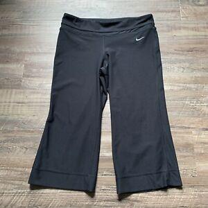 Nike Dri Fit Women's Black Crop Leggings Size Small