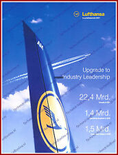 ANNUAL REPORT - LUFTHANSA - 2007 - GERMAN 200 PAGES