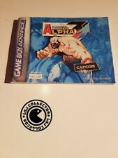 Street fighter alpha - gameboy advance - notice