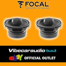 "Focal Integration 10cm 4"" 100 Watts Quality 2 Way Car Door Dash Coaxial Speakers"
