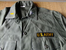 Vietnam War US Army Medical Cotton Sateen Shirt #16