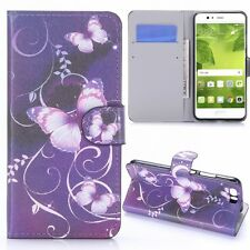 Cover Pattern 24 for Huawei P10 Plus Book Cover Pouch Case Cover Wallet NEW
