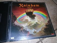 RAINBOW RISING / RECORD LP / GATEFOLD / PLAY TESTED / 2490 137 / A2 B2 MATRIX