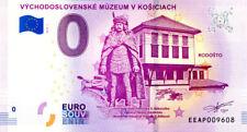 SLOVAQUIE Košice, Východoslovenské múzeum v Košiciach, 2018, Billet 0 € Souvenir
