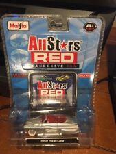 2008 Maisto All Stars Red Exclusive 100 - 1950 Mercury Silver