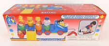 Battat Spinning Bus Pull Along Toy With 9 Figures Spinning Toddler Toy in Box