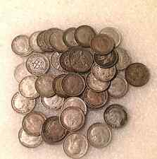 2 oz  of  silver threepence 3d mixed  three pence coin1921 to 1947