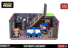 SOUTH PARK CARTMAN'S BASEMENT DELUXE CONSTRUCTION SET MCFARLANE TOYS - OFFICIAL