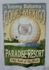Tommy Bahama T-Shirt Golf Of Mexico Paradise Resort Men's Small