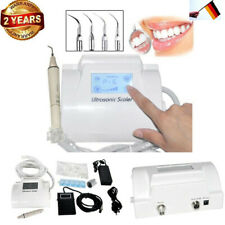 Ablatore Ultrasuoni Dental LCD Ultrasonic Piezo Scaler fit EMS Manipolo 4 Tips